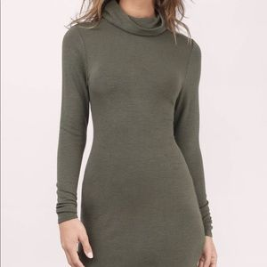 Body on sweater dress